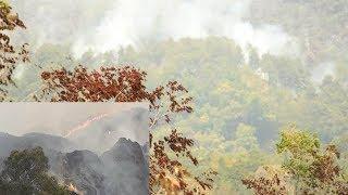 Pembasahan Pakai Heli MI8, Kebakaran di Gunung Ciremai Akhirnya Padam