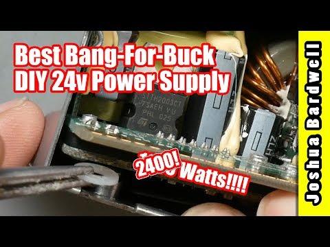 24 Volt Converted Server Power Supplies - смотреть онлайн на Hah Life
