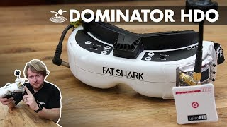 Fat Shark Dominator HDO - What you need to know - Video Youtube