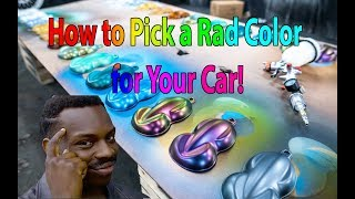 How to Pick a Rad Color for Your Car
