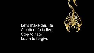 Living For Tomorrow - Scorpions + Lyrics