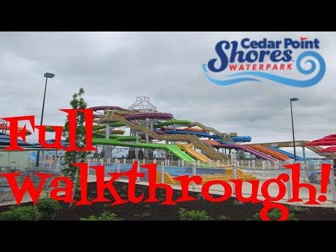 Cedar Point Shores, full walkthrough! (видео)