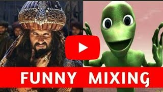 Khali Bali Ho Gya He Dil Very Very Funny Mixing Bollywood Song