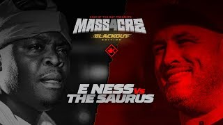 KOTD - E Ness vs The Saurus | #MASS4