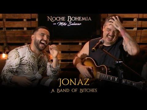 Jonaz en Noche Bohemia con Mike Salazar
