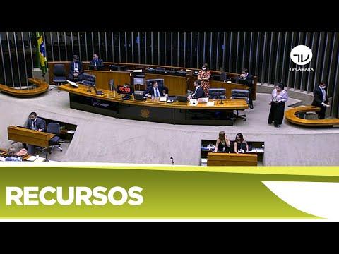 Plenário aprova mais recursos para combate à Covid-19
