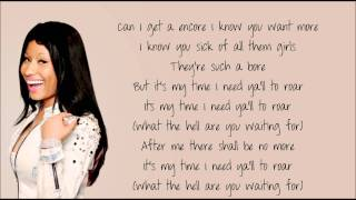 Nicki Minaj - Encore '07 [HQ] Lyrics