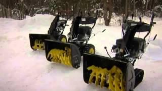 Обзор снегоуборщика Champion видео