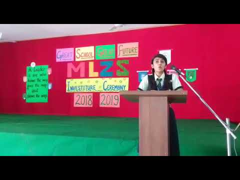 INVESTITURE CEREMONY OF STUDENT COUNCIL 2018-19