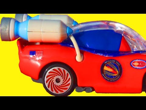 Cars 2 Autonaut Lightning McQueen Take Flight Mattel Toys Disney Pixar Cars Toy Review Space Moon