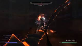 Skyrim: A Very Easy Fight with the Reaper.