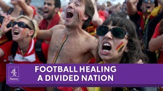 Is Belgium's football team bringing a divided country together?