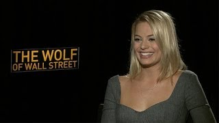 "Margot Robbie Says Even Leonardo DiCaprio Can Be a ""Massive Nerd"""
