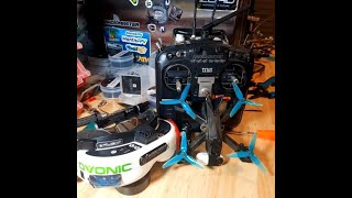 #TinyTrainer insta360Go FPV Racing