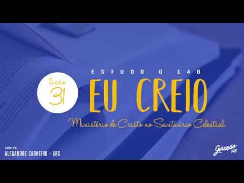 31-Ministério de Cristo no Santuário Celestial