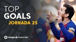 Todos los goles de la Jornada 25 de LaLiga Santander 2019/2020