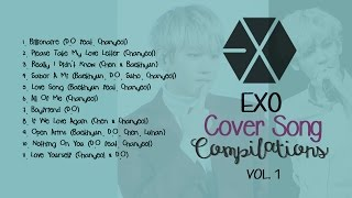 EXO COVER SONG COMPILATIONS (VOL. 1)