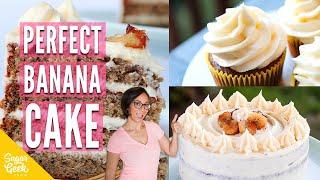 The Best Moist Banana Cake Recipe