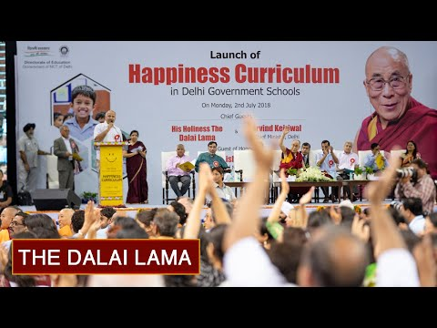 Launch of the Happiness Curriculum in Delhi Government Schools