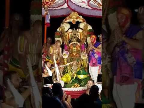 Tirupati Bramotchuvam Garuda Seva
