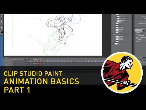 Animation Basics - Part 1 - Clip Studio Paint (2018)