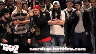 WordUP! 11e édition - Samy Elmousif vs Dony S