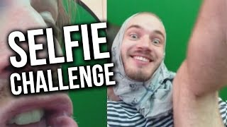 THE SELFIE CHALLENGE - (Fridays With PewDiePie - Part 98)