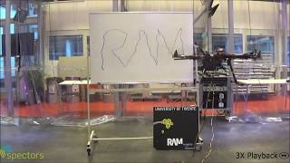 Aerial Manipulation: Writing With An Aerial Robot UAV