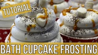 Tutorial : Bath Cupcake Frosting 2   Royalty Soaps