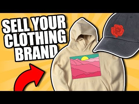 Marketing and Selling Your Clothing Brand Startup - How The Sell?!