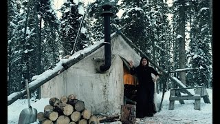 Canvas Tent With A Woodstove- This is what it