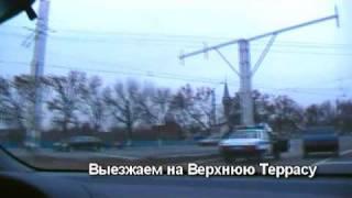 Поездка через новый мост в Ульяновске