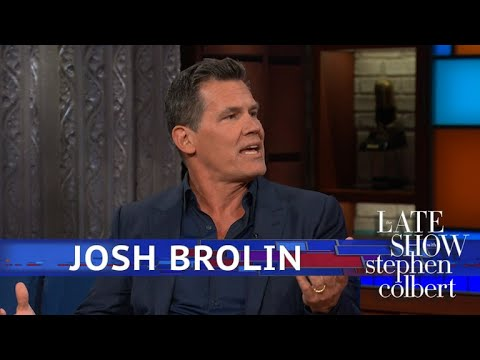 Guy Smarts: Watch Josh Brolin read Trump tweets as Thanos on 'Stephen Colbert'