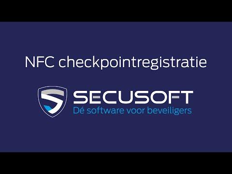 Digitaal kloksysteem en tijdregistratie met NFC tags en QR codes - Secusoft, dé software voor beveiligers