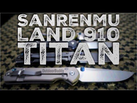 SanRenmu Land 910 Titan | Messer Vorstellung JUSAYA