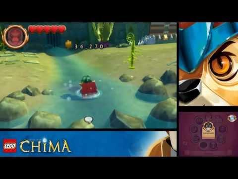LEGO Legends of Chima : Le Voyage de Laval Nintendo DS