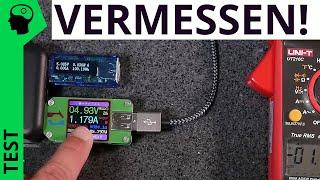 Nonsense: Sinnlose USB Messgeräte zur Leistungs- und Strommessung