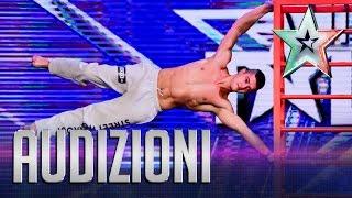 Gaggi Sfida La Gravità | Italia's Got Talent 2015
