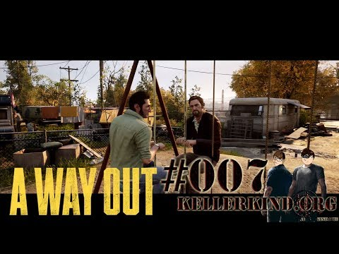 A Way Out #7 – Wir schaukeln das schon ★ Let's Play Together A Way Out [HD|60FPS|Co-Op]