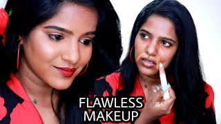 தமிழில்-Best Flawless Makeup Method For Dusky Skin-lots Of Tips&tricks-THURSDAY TAMIL TUTORIAL❤️