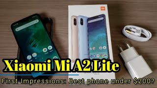 Xiaomi A2 Lite - First Impressions - A no brainer for under $200!