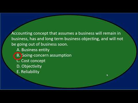 Multiple Choice 1 Questions Accounting Terms Accounting Equa ...