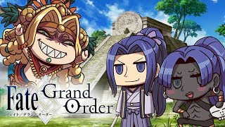 Quetzalcoatl  - (Fate/Grand Order) - Fate/Grand Order: Babylon Quetzalcoatl Battle