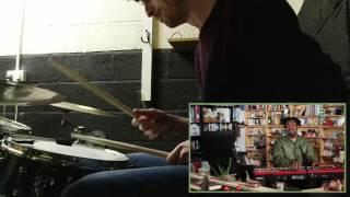 Sampha @ NPR Tiny Desk w/drums