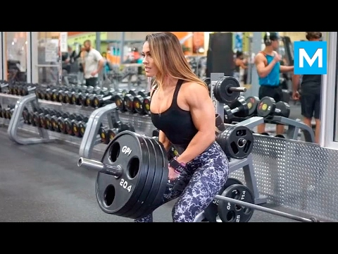 Download BEAST in the Beauty - Cassandra Martin | Muscle Madness HD Mp4 3GP Video and MP3