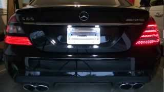 How to Install Facelift LED Tail Lights 2010+ W221 Mercedes Benz AMG S65 S63 S550
