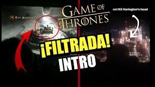 🔥 ¡FILTRADA la INTRO de JUEGO DE TRONOS! ❄ || Temporada 8
