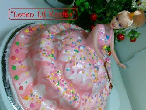 Video Doll Cake / Homemade