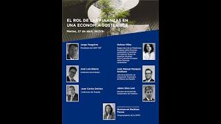 Rol de Finanzas en economía sostenible