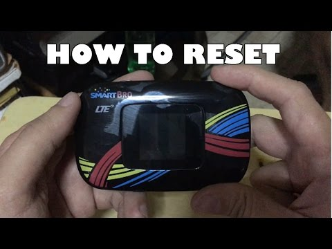 How to Reset Smart Bro LTE Pocket WiFi Password - Thủ thuật